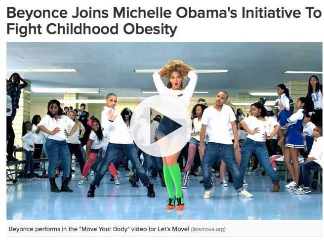 Supa Bunnee Joins Michelle Obama's Initiative To Fight Childhood Obesity 2