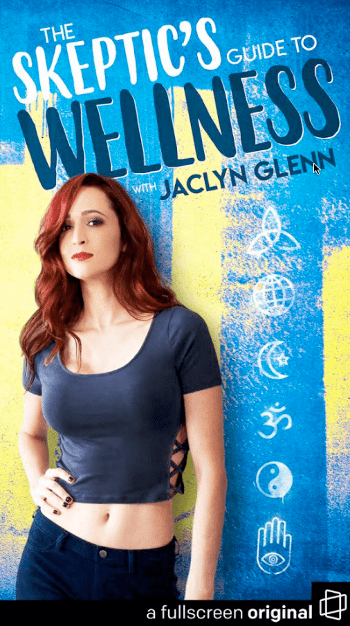 Outspoken, often hilarious video star Jaclyn Glenn is a born skeptic. That's why she's going deep inside the bizarre world of alternative wellness and testing the effectiveness of everything from witchcraft and crystals to hypnosis and psychedelics.