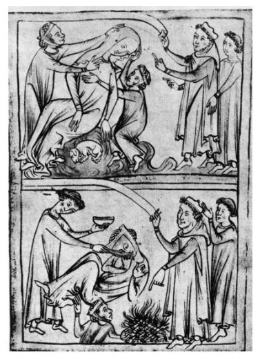 From Feb. 13 to 15, the Romans celebrated the feast of Lupercalia. The men sacrificed a goat and a dog, then whipped women with the hides of the animals they had just slain.