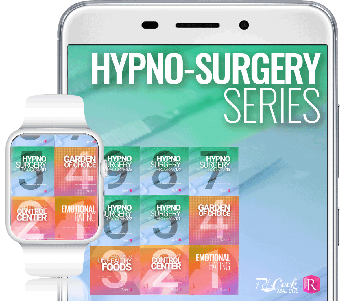 Hypno-Surgery Series by Rochelle L. cook, MA., CHt.