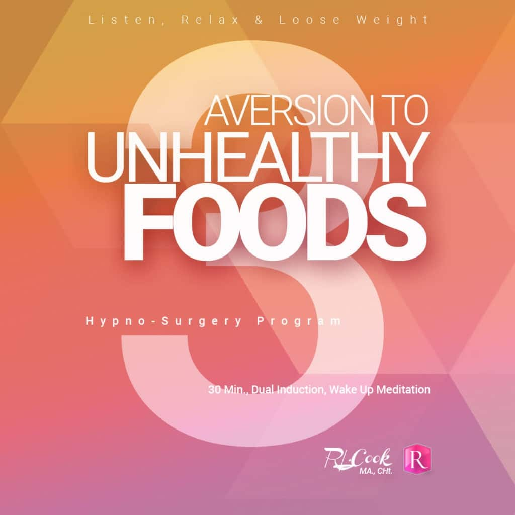 Aversion to Unhealthy Foods paraliminal by Rochelle L. Cook MA., CHt.