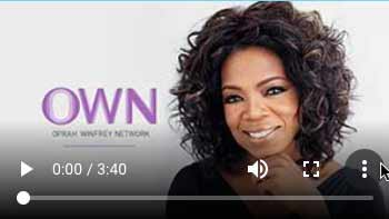 Ms Cook on Oprah Winfrey's OWNTV