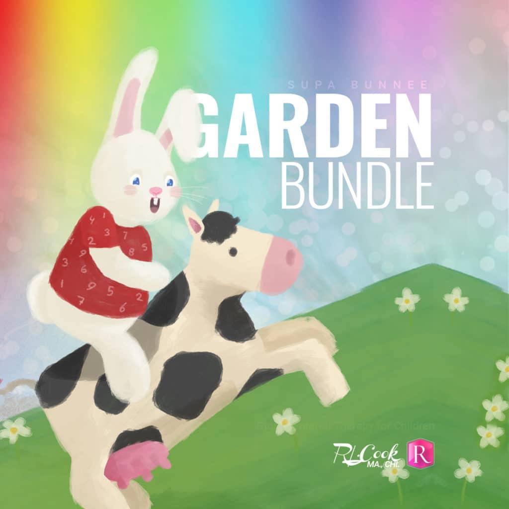 Supa Bunnee's Garden Bundle. Hypnosis for Children